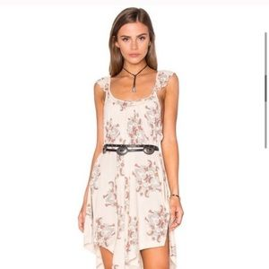 Free People Drifter Floral Tank Dress Small